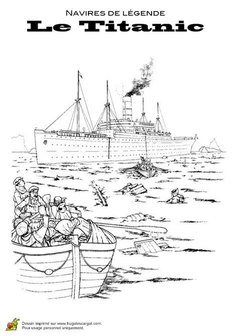 dessin bateau titanic coloriage navires de legende le titanic 22 sur