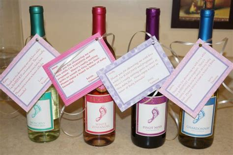 gift ideas for baby shower host baby shower hostess gift barefoot wine with a