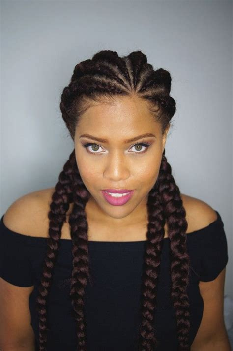 big cornrow hairstyles for black women with bangs best 25 big cornrows ideas on pinterest big cornrows