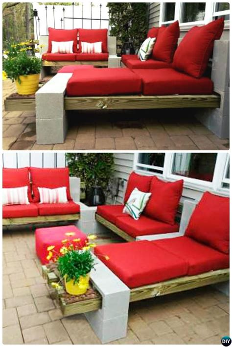 Cinder Block Patio by 25 Best Ideas About Cinder Block Furniture On