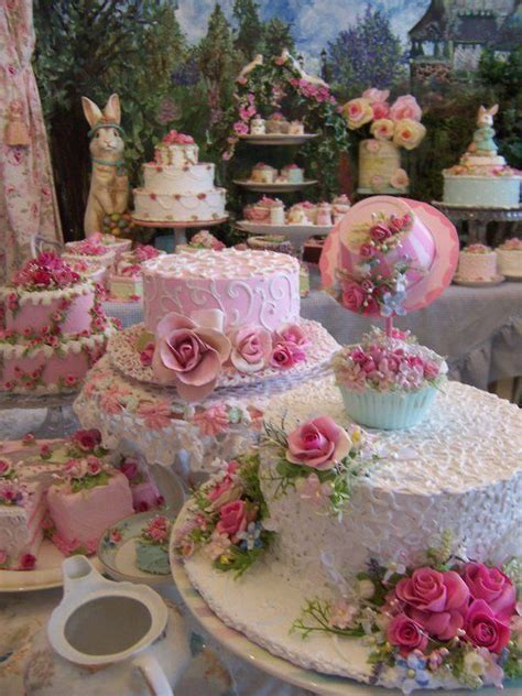 beautiful easter cakes can you imagine this in miniature ideas pinterest