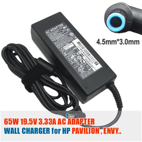 Charger Laptop Hp Pavilion Touchsmart B146tu Hp Envy Spectre 14 3014tu Original spare hp 65w 19 5v 3 33a 4 5mm 3 0mm notebook power supply from ezbuybatteries