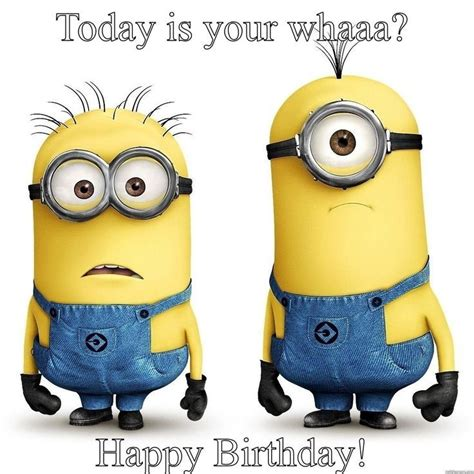 In Happy Birthday Quotes Minion Happy Birthday Quote Pictures Photos And Images
