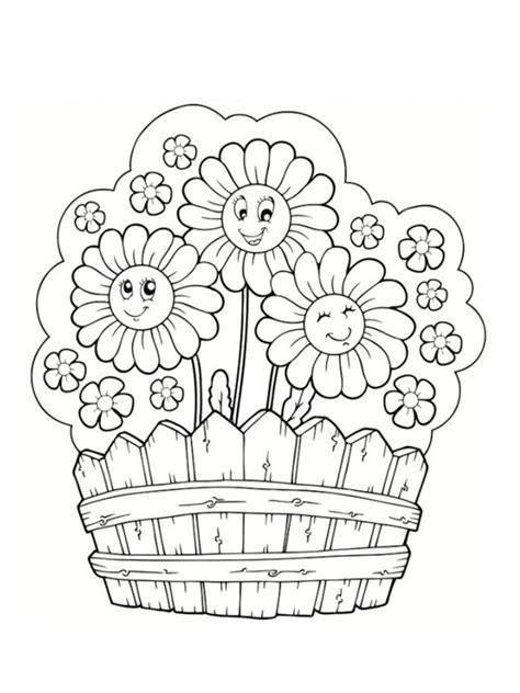 Coloriages De Fleurs