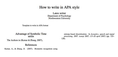 how to write a paper apa style sle how to write an apa style paper step by step 28 images