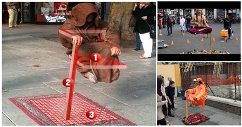 trick  levitating performers revealed owemesome