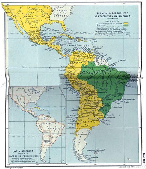 north america south america map latin america physical map latin