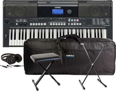 Keyboard Yamaha E433 yamaha psr e433 portable keyboard 61 spsre433 psr