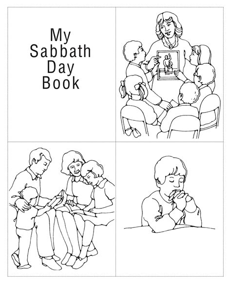lds coloring pages sabbath day keep the sabbath day holy lds coloring pages coloring pages