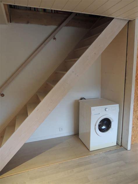 Meuble Dessous Escalier by Amenagement Dessous Escalier Free Tiroirs Avec Faades En