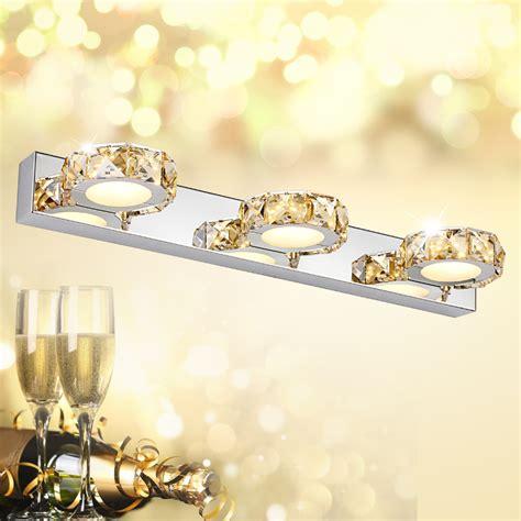 crystal lights for bathroom free shipping 2016 ju sheng luxury fashion led k9 crystal