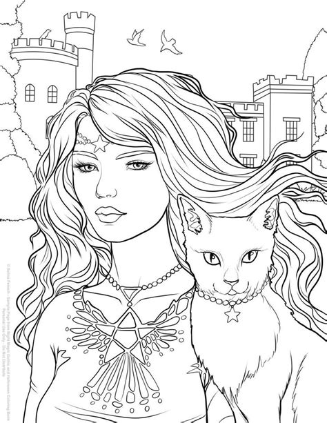 new creations coloring book series hearts books 273 best witch coloring images on coloring