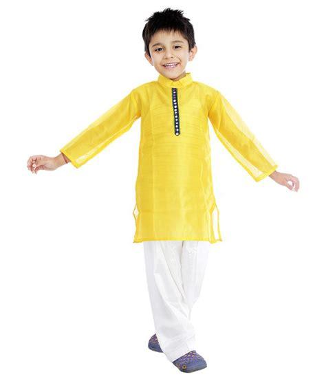 Tosca Yelow Pocket 3 Year pockets store yellow kurta pajama for boys buy pockets store yellow kurta pajama