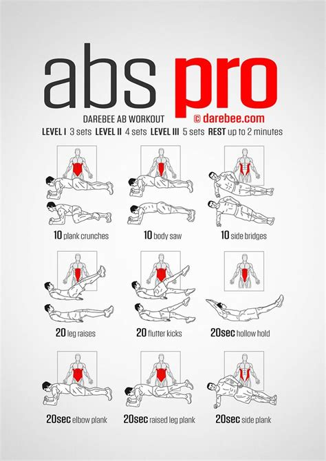 17 best ideas about ab workout on workout
