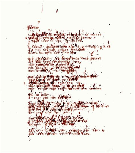 Letter With Blood Today S Question When Was The Last Time You Wrote Someone A Handwritten Letter