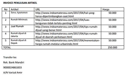 format penulisan artikel koran contoh invoice pembayaran penulisan artikel blog