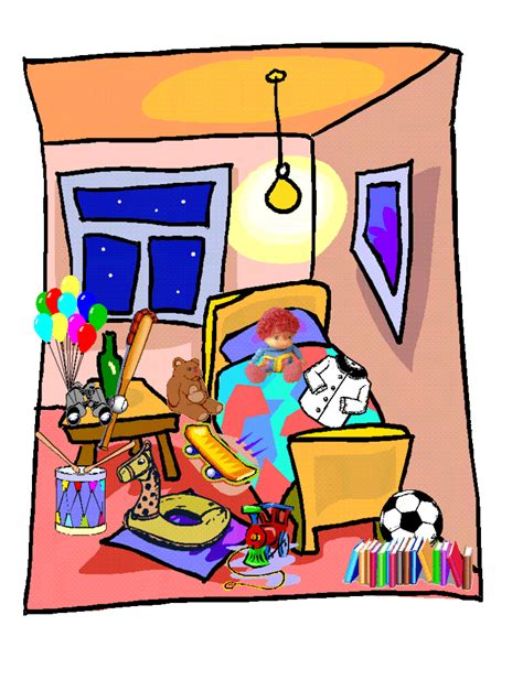messy bedroom messy bed clipart cliparthut free clipart