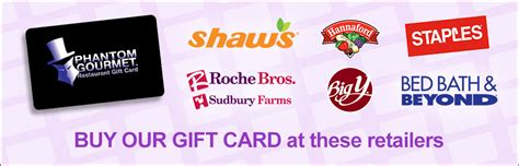 Phantom Gourmet Gift Card Restaurants - other locations the phantom gourmet restaurant gift card