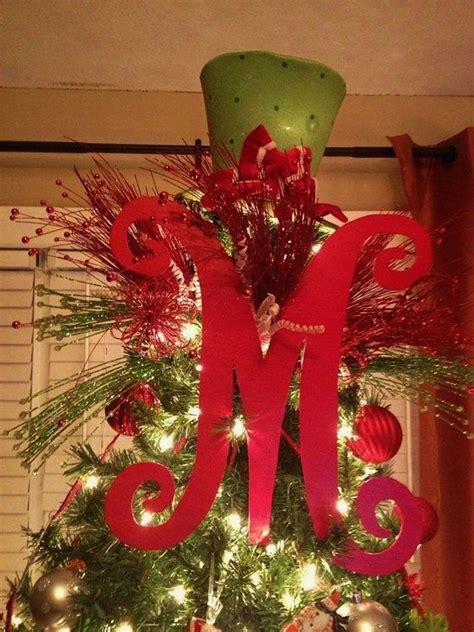 wooden 18inch letter for christmas tree december pinterest