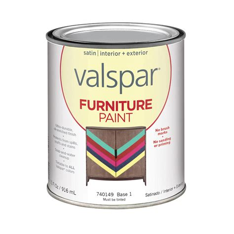 shop valspar furniture satin interior exterior paint