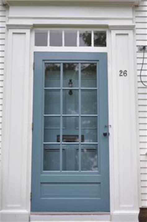 benjamin stratton blue front door beautiful screen door outside stuff