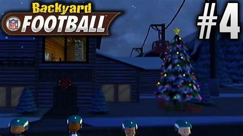 backyard football gamecube backyard football gamecube season mode ep4 winter