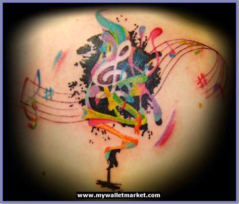 music and flower tattoo designs awesome tattoos designs ideas for and abstract