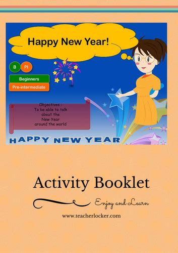 lesson plan on new year celebration esl learn about new year celebration around the world