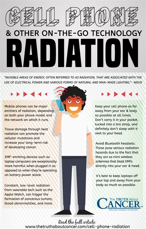 mobile phone radiation levels dangers of cell phone radiation other on the go