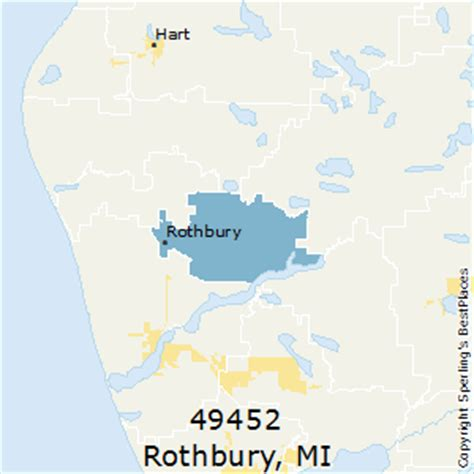 rothbury michigan map best places to live in rothbury zip 49452 michigan