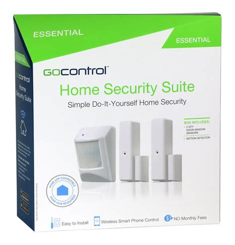 gocontrol wnk01 21kit essential z wave home security suite