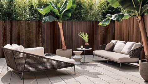 arredamento outdoor design minotti a stylish outdoor mohd design magazine