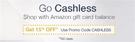 Benefit Gift Card Balance - go cashless by amazon india up to 15 off on gift card balance