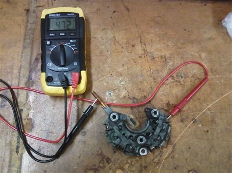 alternator diode leakage test 28 images testing battery and charging system kit autotronic