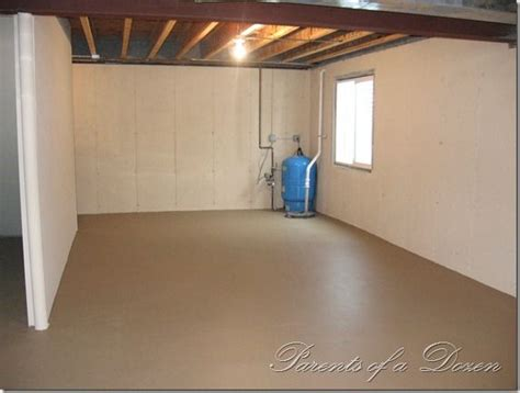 painting a basement floor ideas 71 best unfinished basement renovation ideas images on