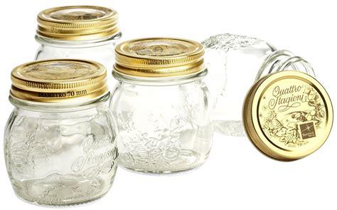vasi marmellata sterilizzare i vasetti di vetro per le conserve perfettamente