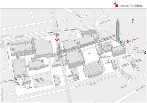 exhibition layout pdf site maps messe frankfurt exhibition grounds messe