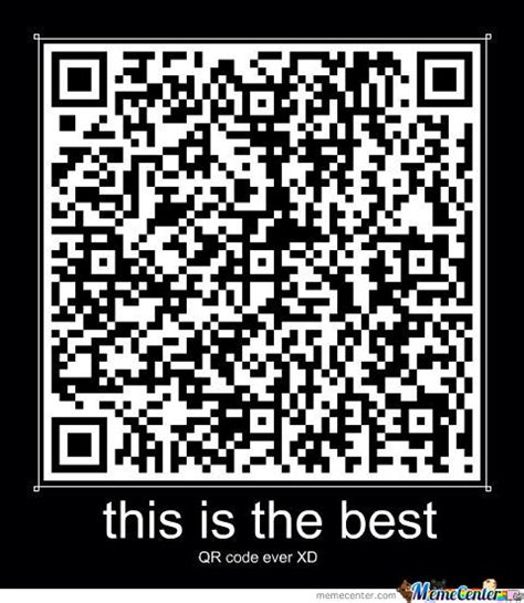 Meme Qr Code - this qr code is the funniest i have ever seen by watervav