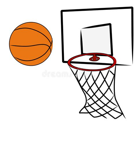 basketball clipart vector shooting hoops stock vector illustration of clip dunk