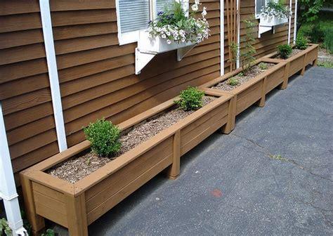 diy planter box plans  wooden boxes decoratorist