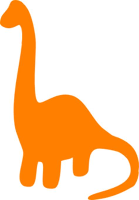 Orange Dino orange dino clip at clker vector clip