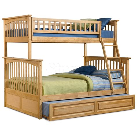 bunk beds with a trundle 1115 30 columbia bunk bed raised panel