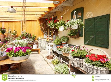 interior design with flowers flower shop interior stock image image of objects
