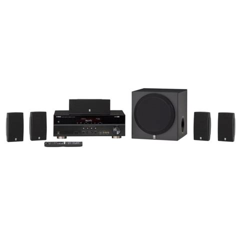 yamaha yht 495bl 5 1 channel home theater system mch rewards