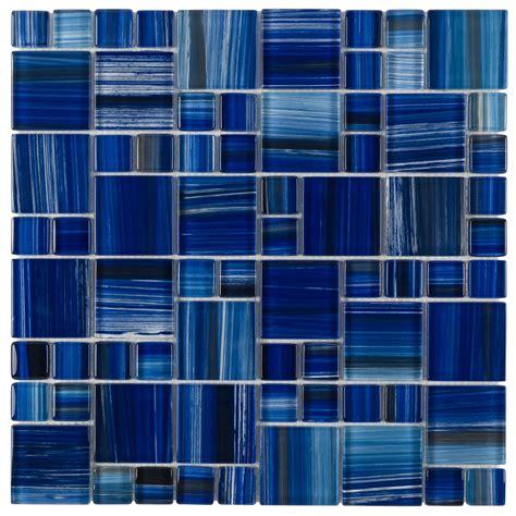 blue pattern wall tiles glass mosaic tile royal blue pattern glass mosaic tiles