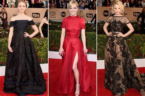 Screen Actors Guild Awards Best Dressed Carpet Fashion Awards by 10 Appearances That Made Jaws Drop At The 22nd Screen