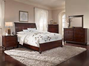 dark cherry bedroom furniture hayden place dark cherry sleigh bedroom set 4647 270 271