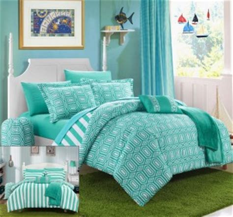Aqua And White Comforter by Aqua And White Beddding Sets Funkthishouse Funk This House