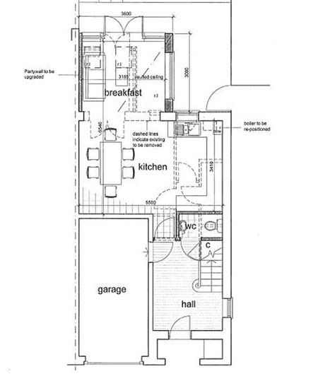 ground floor extension plans ground floor extension fitted kitchen and toilet conversions general in st albans