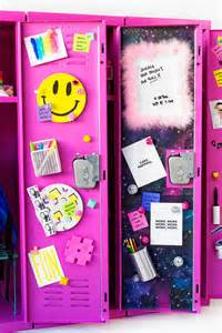 locker decorations diy locker decor ideas studio diy